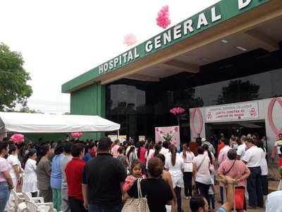 Exitosa campaña sobre Octubre Rosa en Hospital de Luque •