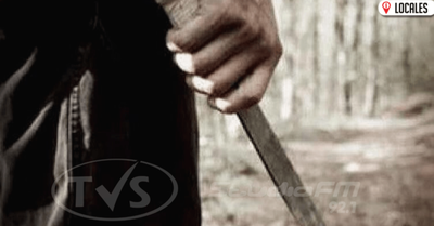 Por celos hombre agredió con machete a su pareja en Encarnación