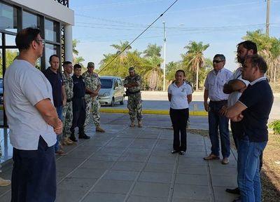 EBY coordina acciones de contención del COVID-19 en paso fronterizo