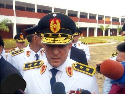 Comandante de la Policía se encuentra internado