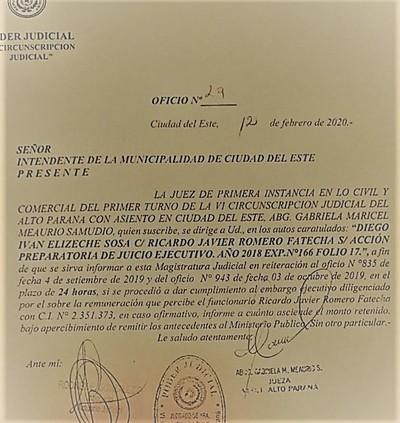 Prieto se niega a cumplir orden de EMBARGO y Jueza le advierte que lo PROCESARAN por DESACATO
