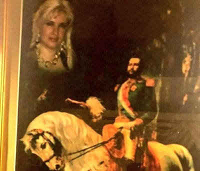 Encuentran pintura de Dalia con el Mariscal López en allamiento: ¿parientes?