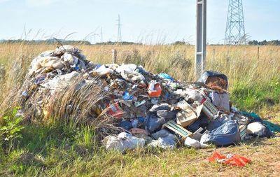 Deficiente recolección de basura en Villarrica