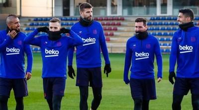 Barcelona suspende sus entrenamientos