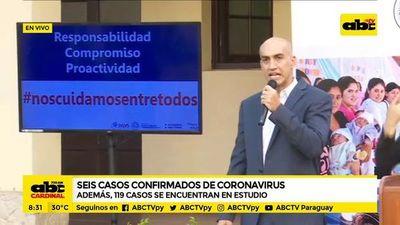 Coronavirus: dos de los infectados se encuentran en estado grave, dicen ministro de Salud