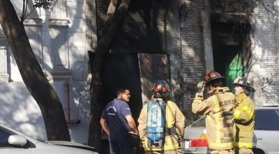 Explosión, incendio y humo tóxico en microcentro de la capital