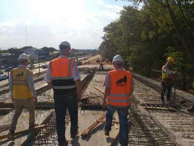 Avanza construcción del corredor vial Botánico