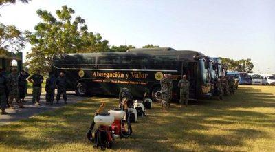 Estos son los cinco recorridos que harán los buses militares para apoyar el transporte