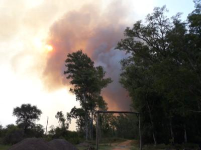 Pilar: Hallan cuerpo de bombero desaparecido durante incendio