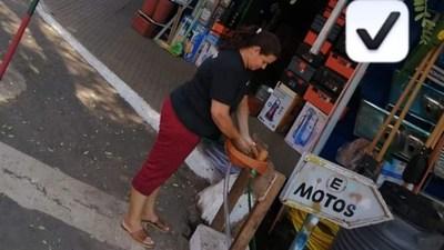 Plausible iniciativa de un comerciante en San Ignacio Misiones