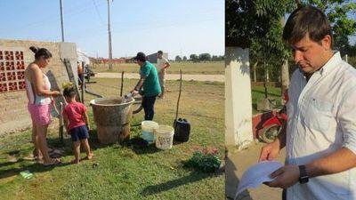 Villa Florida; asisten a más de 100 familias con agua potable