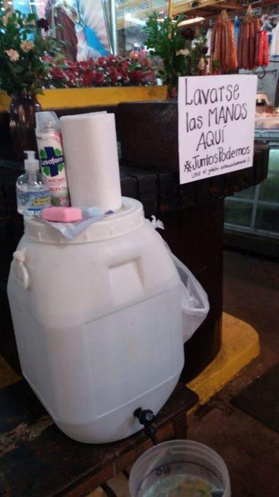 Mercado: El poder de lavarse las manos contra el coronavirus