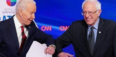 Primer cara a cara entre Biden y Sanders con una sorpresa: una mujer sería la vice en la fórmula demócrata
