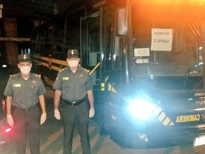 COVID-19: Patrulla Caminera aprehenderá a choferes que transporten más de 10 pasajeros parados
