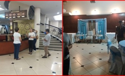 Baby Shower en hotel pese a prohibición de aglomeración de personas
