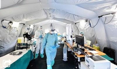 Nuevo récord de muertos por coronavirus en Italia: 368 en 24 horas
