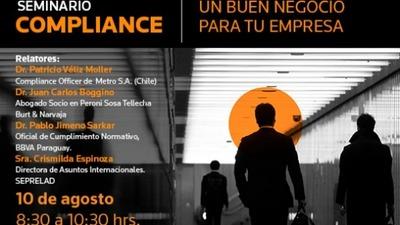 Seminario de Compliance: Un buen negocio para las empresas