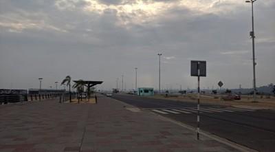 """Deportistas piden tolerancia en la Costanera, pero Policía """"invita"""" a retirarse"""