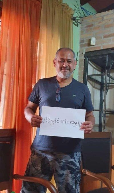 Chiqui Arce se suma a la campaña #QuedateEnCasa