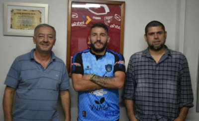 """HOY / Martín """"aparece"""" y se incorpora al club Atyrá"""