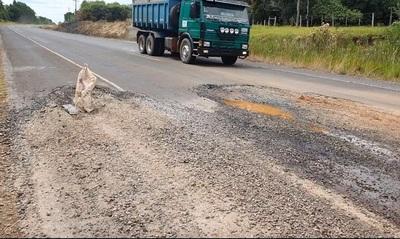 Aumenta el deterioro de las rutas en el Norte