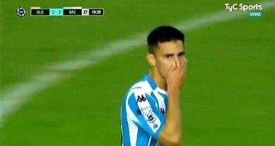 La molestia de Matías Rojas en la Superliga argentina