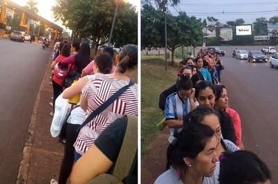 AGLOMERACIÓN en el Paraná Country Club con PROTECCIÓN policial