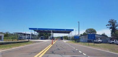 Nula actividad en el Paso Fronterizo entre Ayolas-Ituzaingó, dicen desde Yacyreta
