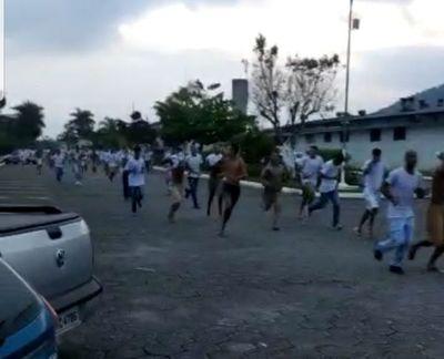 Más de 1.300 presos se fugan de tres cárceles de Sao Paulo