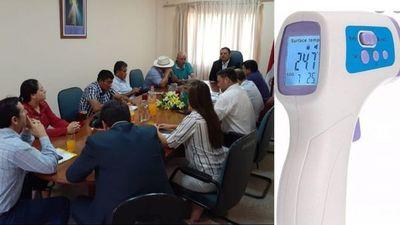 Misiones; concejales departamentales con aportes personales compraran termómetros infrarrojos