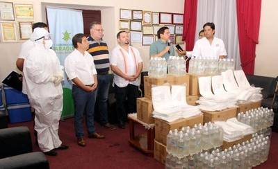 HOY / Dotan de insumos médicos y hospitalarios a puestos de salud de Paraguarí