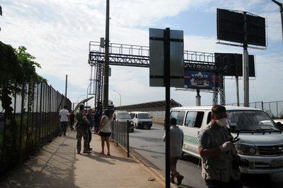 Desde la media noche se cierra el tránsito de personas en el Puente