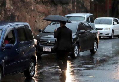 Precipitaciones y ocasionales tormentas eléctricas para hoy