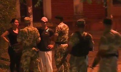 Militares se sumaron a trabajos de restricción de circulación
