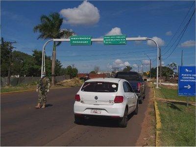 Fuerte control fronterizo en PJC pese a desacuerdo de Bolsonaro
