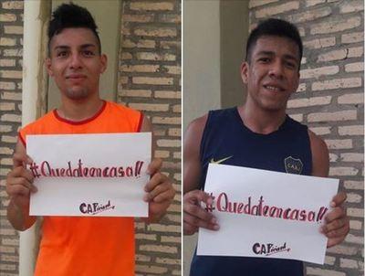 Alto Paraguay: El Atlético Pirizal se une a la cuarentena y también te dice #quedateencasa