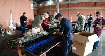 Incautan carga de fusiles en aeropuerto del Alto Paraná