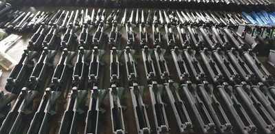 Incautan 45 fusiles AR 15 ingresados en forma ilegal al Paraguay a través del aeropuerto Guaraní