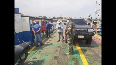 Carmelo Peralta: Preocupante circulación de embarcaciones con pasajeros provenientes de Brasil