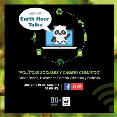 "Participá del ""Earth Hour Talks"""