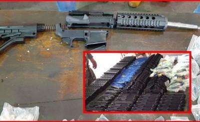 Incautan 45 fusiles y cientos de accesorios en el Aeropuerto Guaraní