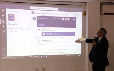 MEC presenta plataforma para clases virtuales con facilidades para docentes y alumnos
