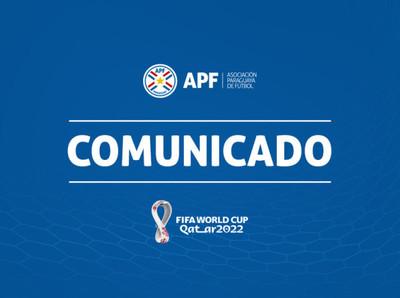 Comunicado de la CONMEBOL