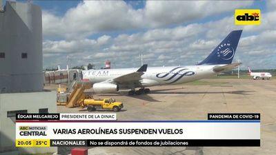 Paraguay quedaría sin vuelos el sábado