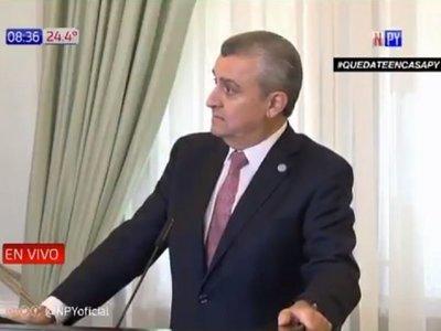 Villamayor ligó duras críticas por no respetar la cuarentena