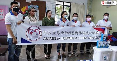 Grupo de ciudadanos y empresarios hacen entrega de donaciones al HRE