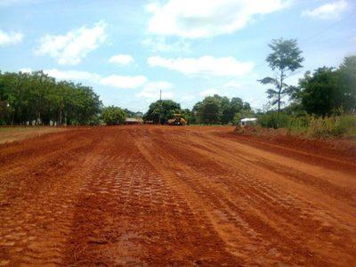 Caaguazú: Continúa la pavimentación asfáltica del tramo Cora Guazú – Walter Insfrán