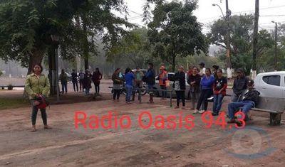 Ciudadanos de Pedro Juan Caballero amenazan con saquear supermecados si no se les entregan víveres