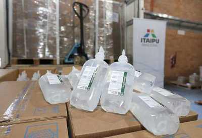 Itaipu entrega de 19.500 unidades de sueros al Parque Sanitario de Salud