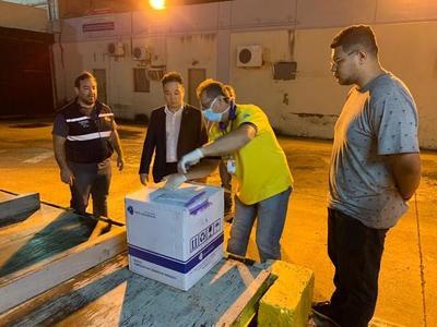 Ministerio de Salud Pública recibe test laboratoriales para detección del Covid-19 donadas por empresas del Shopping París y Ñamopu'á Paraguay